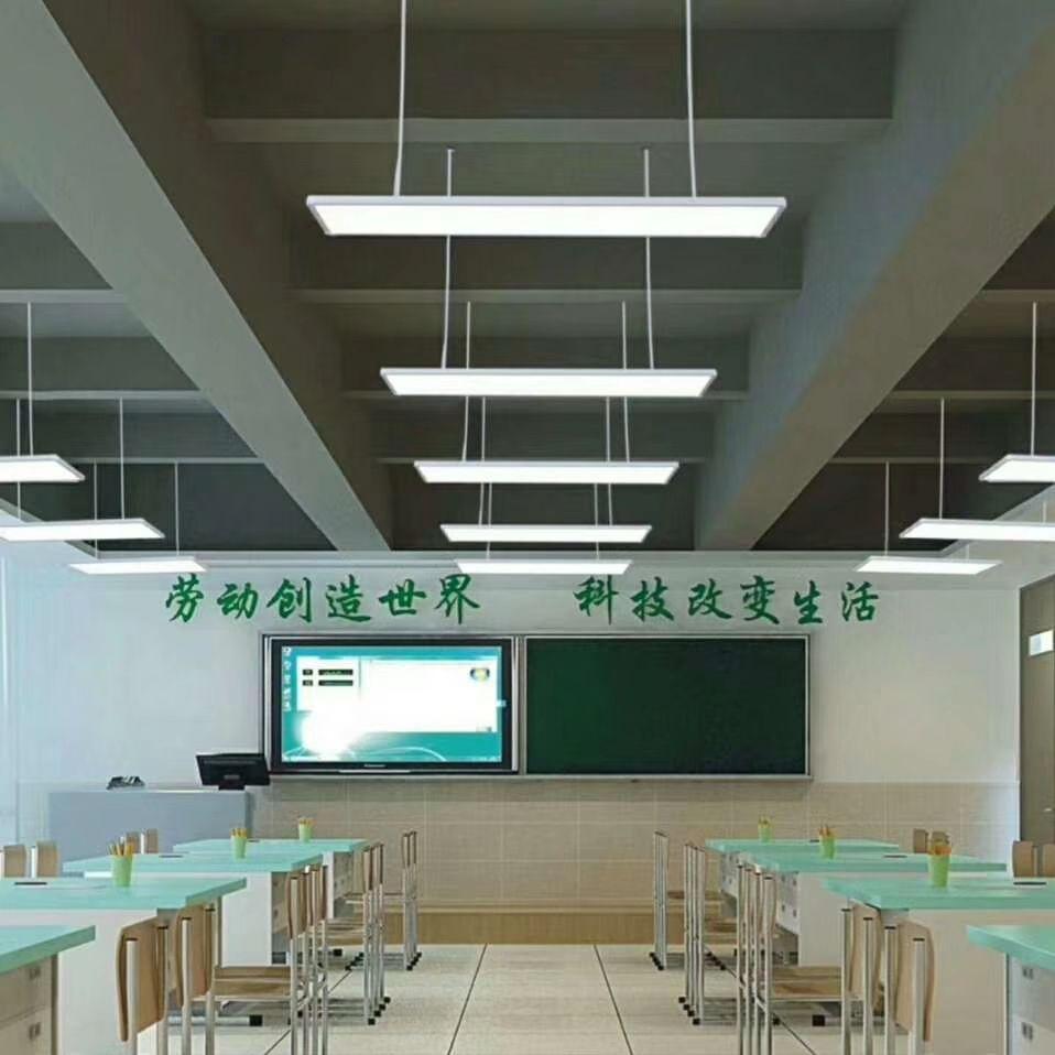 防眩光扩散板应用-学校